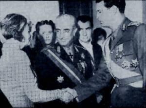 Ana Pauker cu Regele Mihai