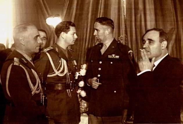 Regele Mihai I, Gheorghe Gheorghiu-Dej  ziua victoriei 9 mai 1947